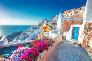 lorindale travel Santorini